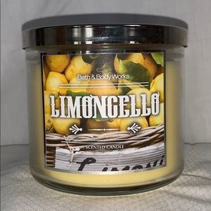 Bath & Bodyworks LIMONCELLO scented candle NWT